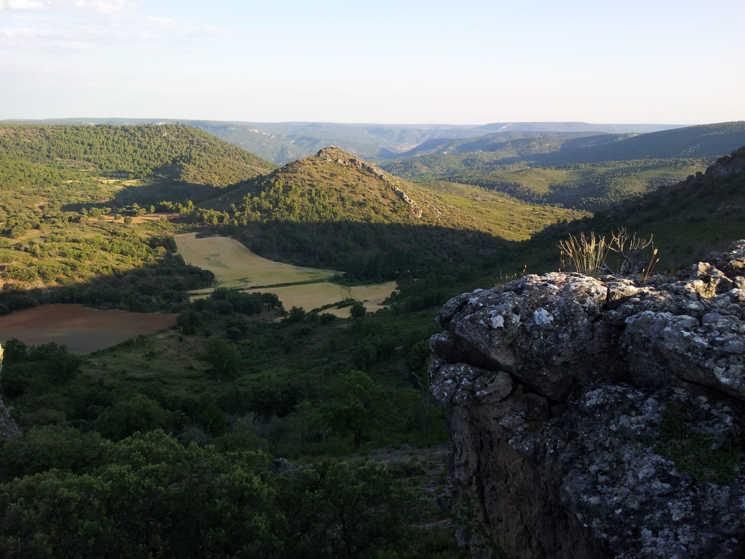 """Panorama del Parque Nacional """"Alto Tajo"""""""