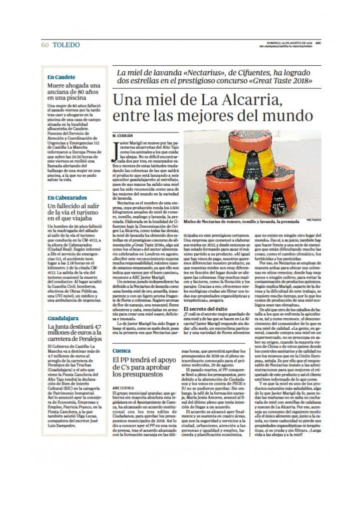 DOSSIER DE PRENSA Miel Nectarius page 0009