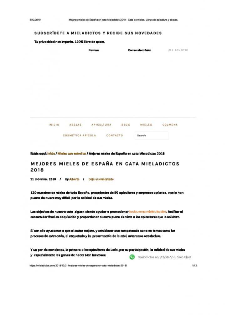 DOSSIER DE PRENSA Miel Nectarius page 0014