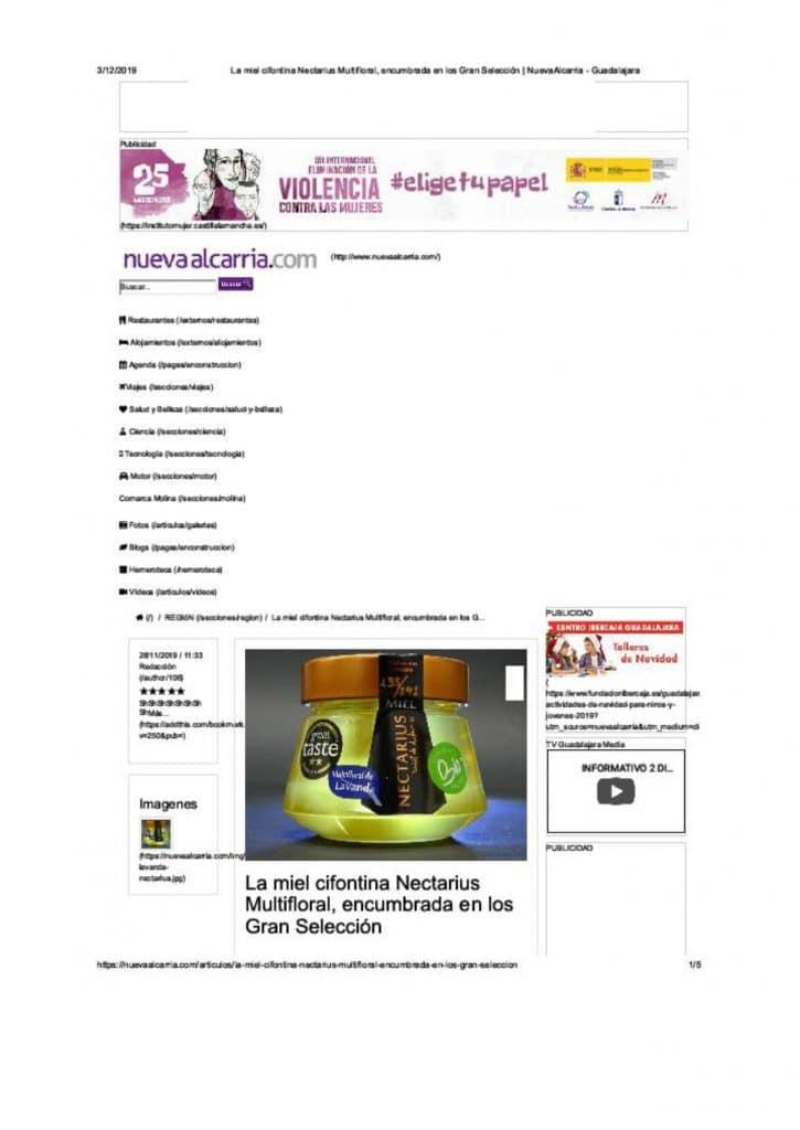 DOSSIER DE PRENSA Miel Nectarius page 0019